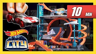 Crazy Adventures of Chase and Elliot! | Hot Wheels City | Hot Wheels