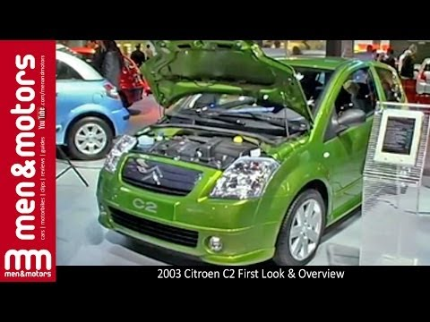 2003 Citroen C2 First Look & Overview