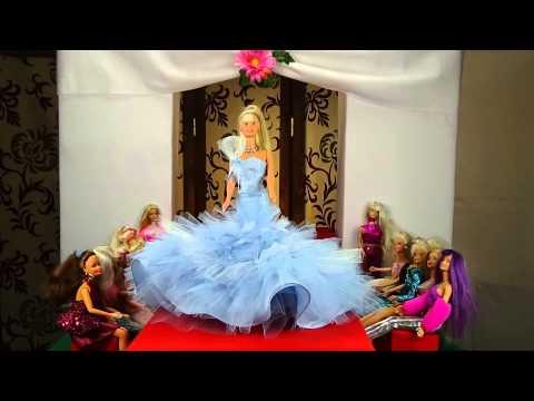 Barbie fashion show stop motion animation