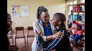 Child Rights Hero Spés Nihangaza, Burundi. World's Children's Prize