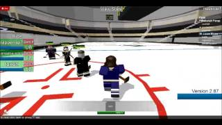 ROBLOX Hockey Blues vs. Penguins 3