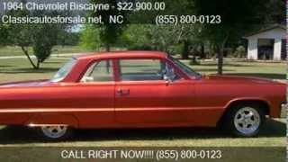 1964 Chevrolet Biscayne  - for sale in RALEIGH, NC 27603 #VNclassics