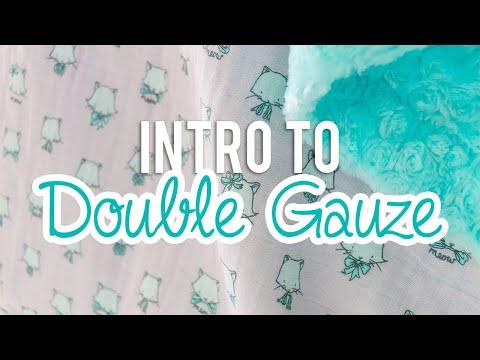 Intro to Double Gauze - Shannon Embrace Fabric | Fat Quarter Shop