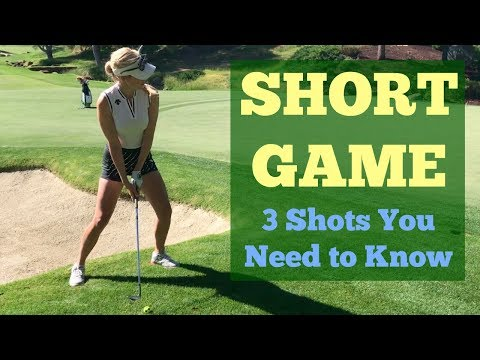 Short Game Shots You Need to Know // Golf Tips with Paige Spiranac // Shadow Creek Golf Course