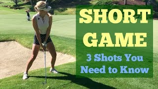 Short Game Shots You Need to Know // Golf Tips with Paige Spiranac