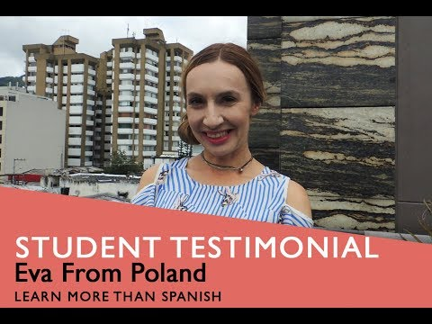 General Spanish Course Student Testimonial by Eva from Poland