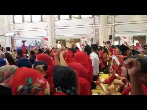 ACARA PENGUKUHAN TKD JOKOWI-AMIN DI SUMSEL Mp3