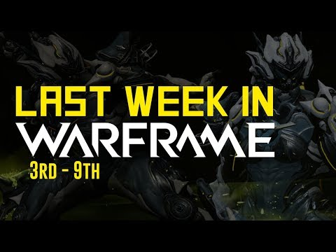No Auction House, Tennogen R15 Release, Semlar Takedown & More! (Warframe) thumbnail