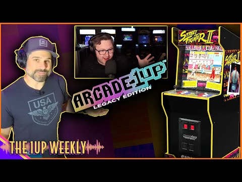 The 1up Weekly - Arcade1Up Street Fighter Legacy Edition Review | Season 2 Episode 4 from The1upWeekly