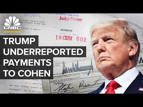 Trump Underreported Payments To Cohen, A Potential Violation | CNBC