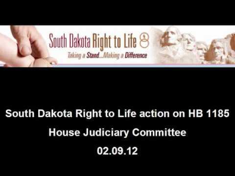 SDRTL Action on HB 1185