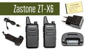 Zastone ZT X6 - Носимая UHF радиостанция. Обзор. Проверка в полях. Разборка.