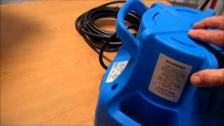Little Giant Apcp-1700 Pool Cover Pump Box Tour Video By Poolcenter.com