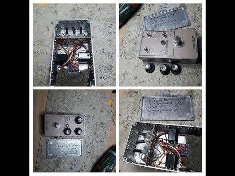 Mk II Professional OC81D Fuzz by Mojo Gear Fx (Stratocaster and Vibrolux Reverb)