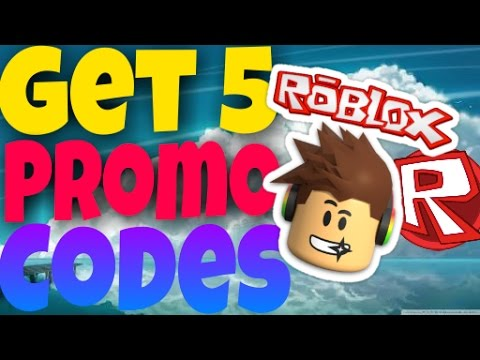 New Roblox Get 5 Promo codes 2016