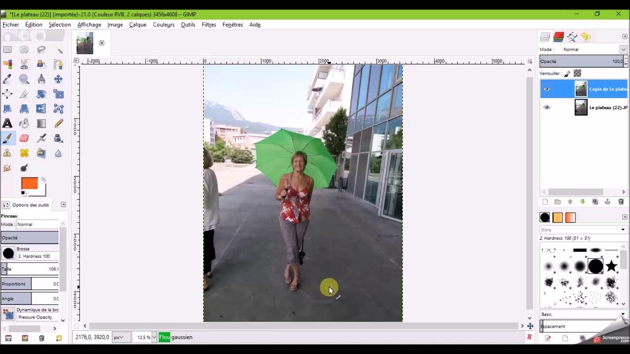 Flouter L Arriere Plan D Une Photo Youtube