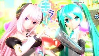 Repeat youtube video [60fps Luka Miku Full風] スキキライ Like Dislike (Suki Kirai) - 巡音ルカ 初音ミク Project DIVA English Romaji