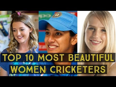 top 10 most beautiful women cricketers