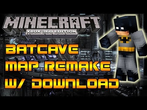 Minecraft Xbox 360: The Bat-Cave Map Download - EPIC! Batman - YouTube