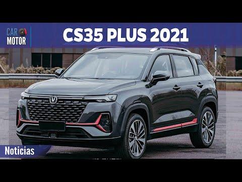 Changan CS35 Plus 2021 - Más refinamiento y tecnología 🔥 🚗 | Car Motor