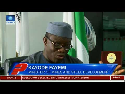 Fayemi Explains New Legal Framework For Nigeria's Mining Sector Pt 2 | Question Time |