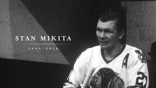 Blackhawks honor Stan Mikita