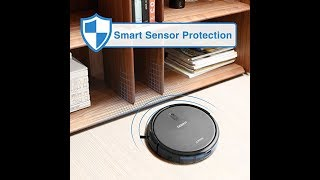 ECOVACS DEEBOT N79 Robotic Vacuum Cleaner with Strong Suction, for Low-pile Carpet, Wi-Fi Connected