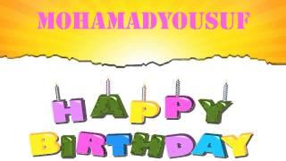 MohamadYousuf Birthday Wishes & Mensajes