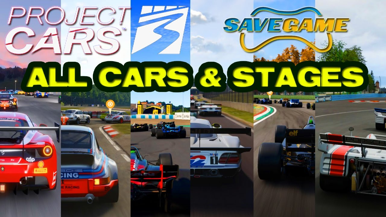 Project Cars 3 Save Game Download All Cars Stages Unlocked Pc 4k Youtube
