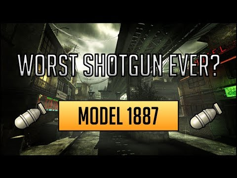MW3- Model 1887 MOAB Worst Shotgun In CoD History