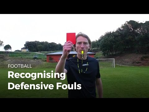 Soccer Rules: Learn about Defensive Fouls | Football