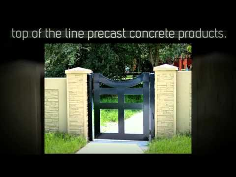 Precast Fence | AFTEC Concrete Fence Forming Systems