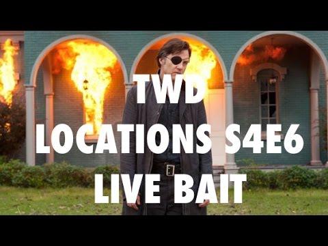 "The Walking Dead Locations: Season 4 Episode 6 - ""Live Bait"""