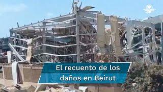 En México el presidente Andrés Manuel López Obrador, durante su conferencia matutina  envió sus condolencias a las víctimas de la tragedia a su vez informó que no hay reportes de mexicanos afectados por las explosiones