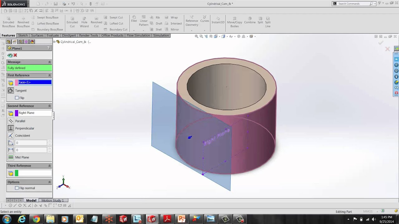 SOLIDWORKS - Wrap Feature