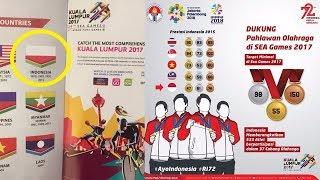 Bendera Merah Putih Indonesia Terbalik,  Menpora Marah kepada Malaysia