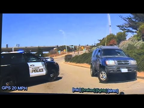 SEASIDE POLICE DASH CAM: Chase leads to officer-involved