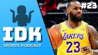 Who Replacing AD? - IDK Sports Pod Ep. 23