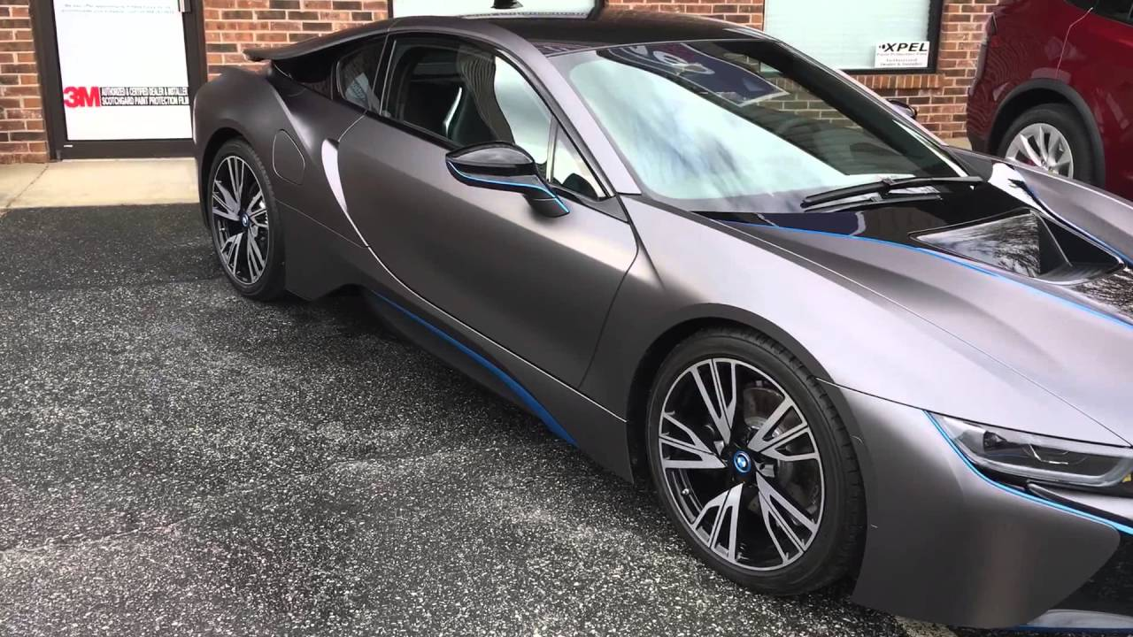 Bmw I8 Color Change Youtube