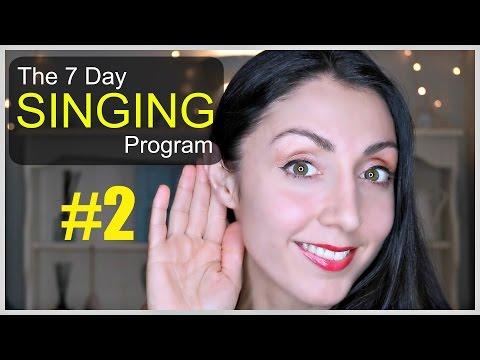 RANGE EXTENSION Day 2: Weekly SINGING EXERCISE Program