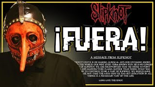 OFICIAL: SLIPKNOT EXPULSA A CHRIS FEHN