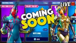 "#USKRC | FORTNITE *SECRET* ""FLYTRAP & VENTURA"" SKINS COMING SOON! 
