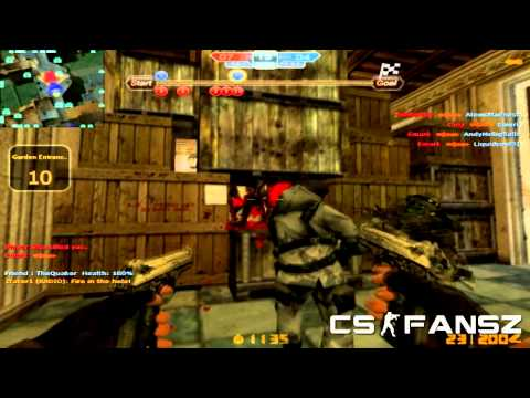 CS Nexon Zombies | ESCAPE ALONE! | Blood Castle
