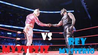 """""""Triplemanía XXIII"""" Rey Mysterio VS Myzteziz (Mistico Sin Cara)"""