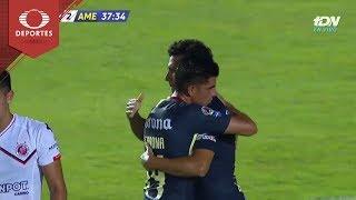 Gol de Cecilio | Veracruz 0 - 2 América | Copa Mx J-4 | Televisa Deportes