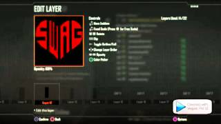 how to make a heart swag- ep5 BO2 playercards