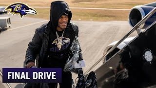 Ravens' Travel Schedule Is Very Favorable | Ravens Final Drive