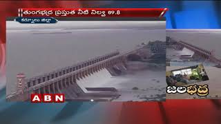 Tungabhadra 11 gates lifted Due to Heavy Rain Flood water