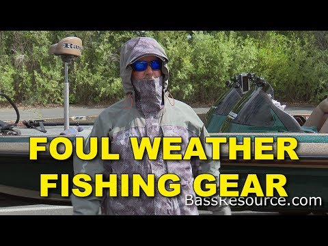 Rainsuit | Foul Weather Performance Fishing Gear | Cold Weather Bass Fishing