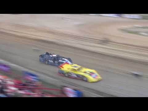 UMP Late Model Last Chance Race at I-96 Speedway on 07-12-2018.